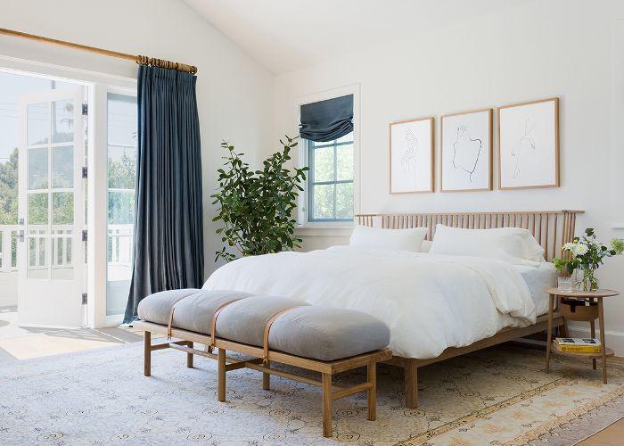 Diseño de dormitorio de California