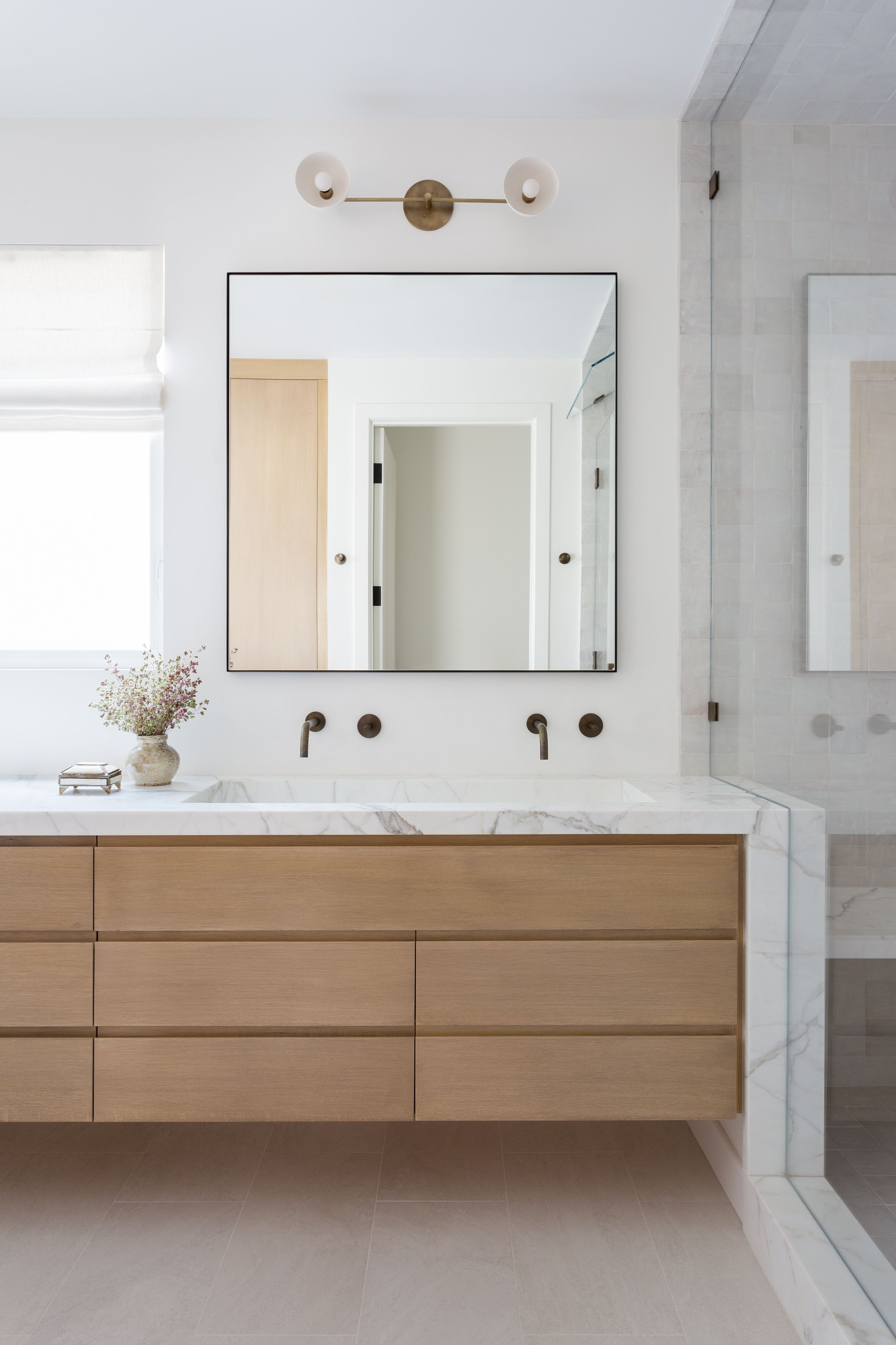 20 Contemporary Bathroom Ideas That Will Make Your Space Feel Brand New