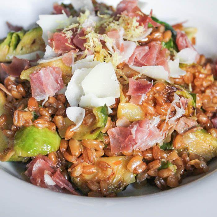 Farro risotto by Domesticate Me