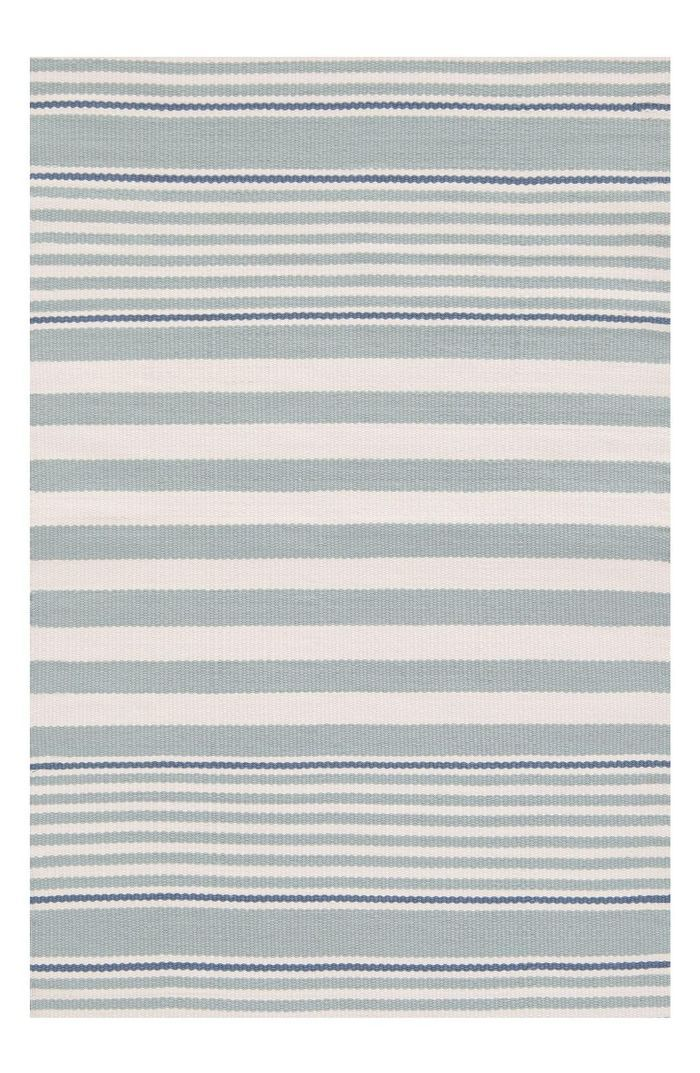 Dash & Albert 'Rugby Stripe' Indoor/outdoor Rug Daytime Date Ideas