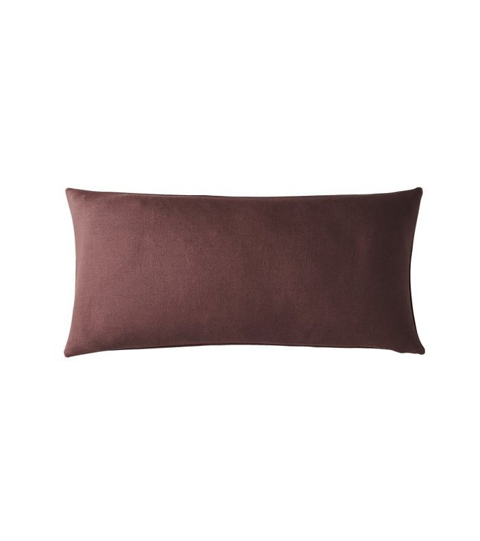 CB2 Suede Pillow