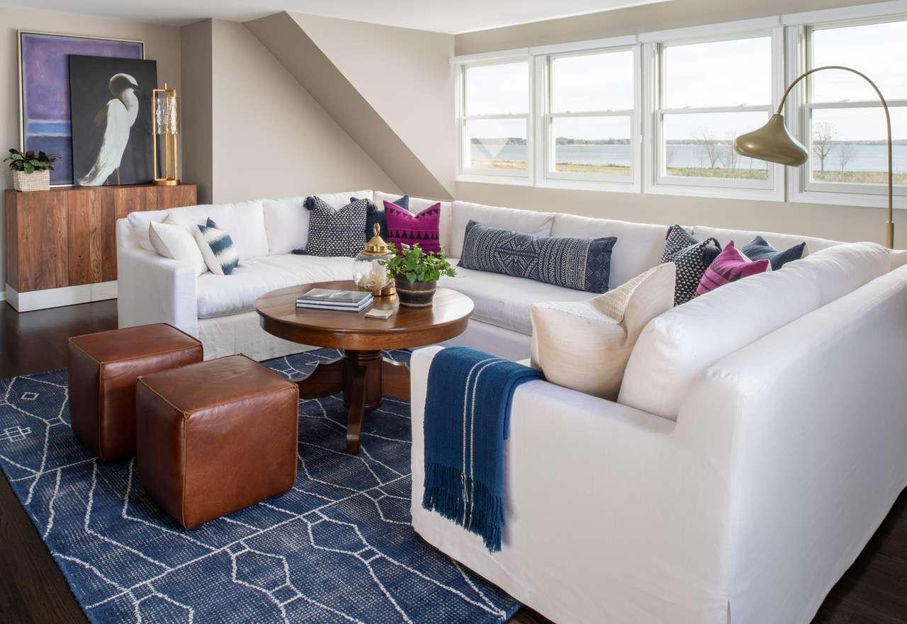 Liz Mearns home tour - seating area