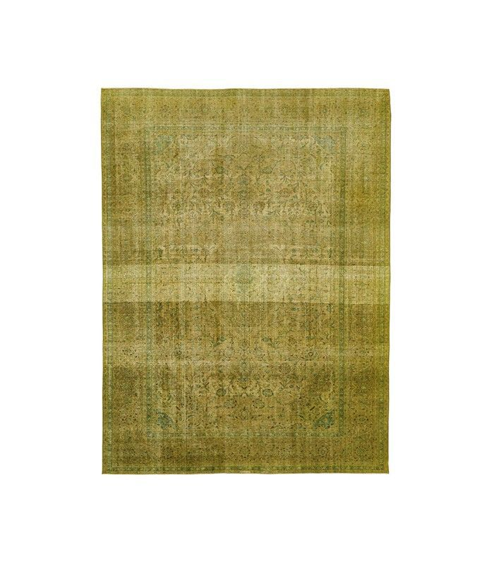 Color Reform overdyed rug