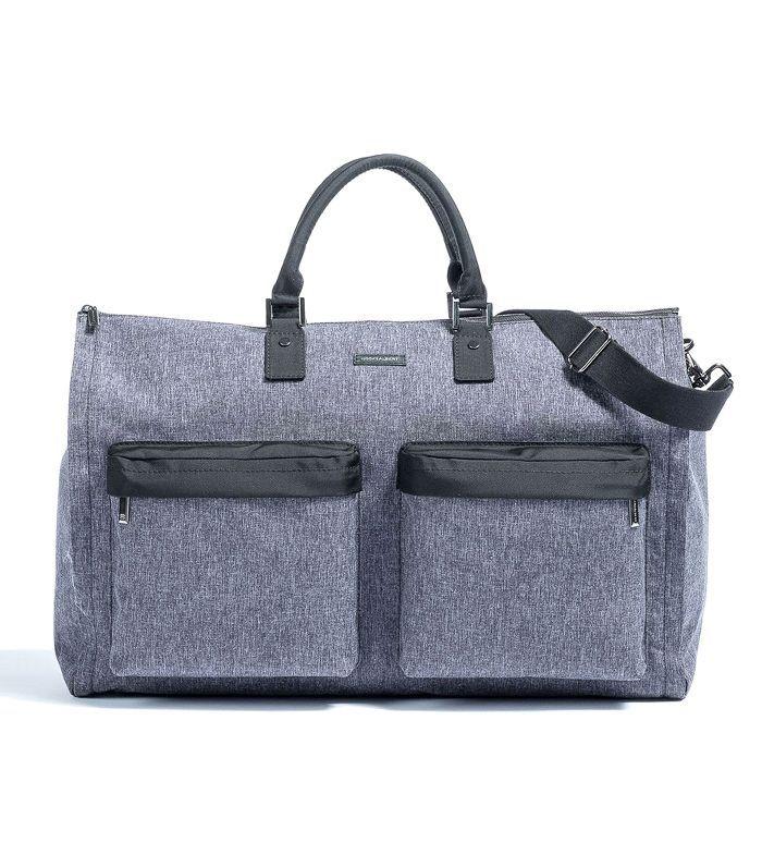 Hook & Albert Melange Fabric Garment Weekender Bag