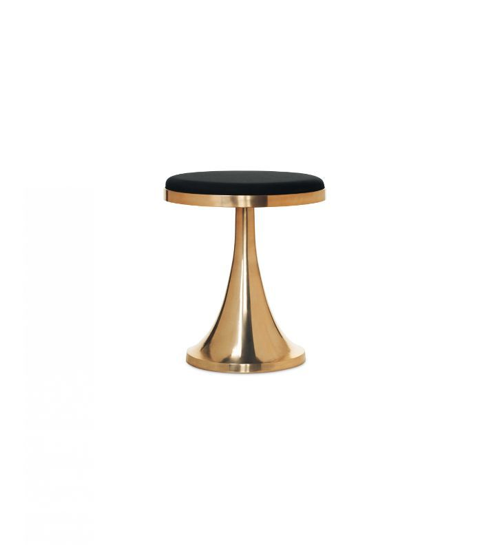 Nate Berkus for Target Upholstered Metal Stool