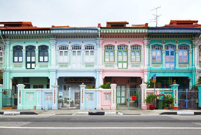 Tiendas de Singapur