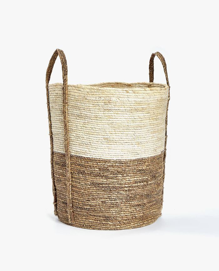 Zara Home Round Basket with Handle