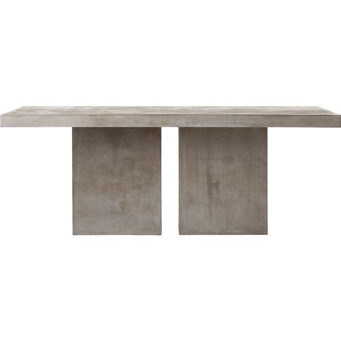 CB2 Fuze Large Grey Table