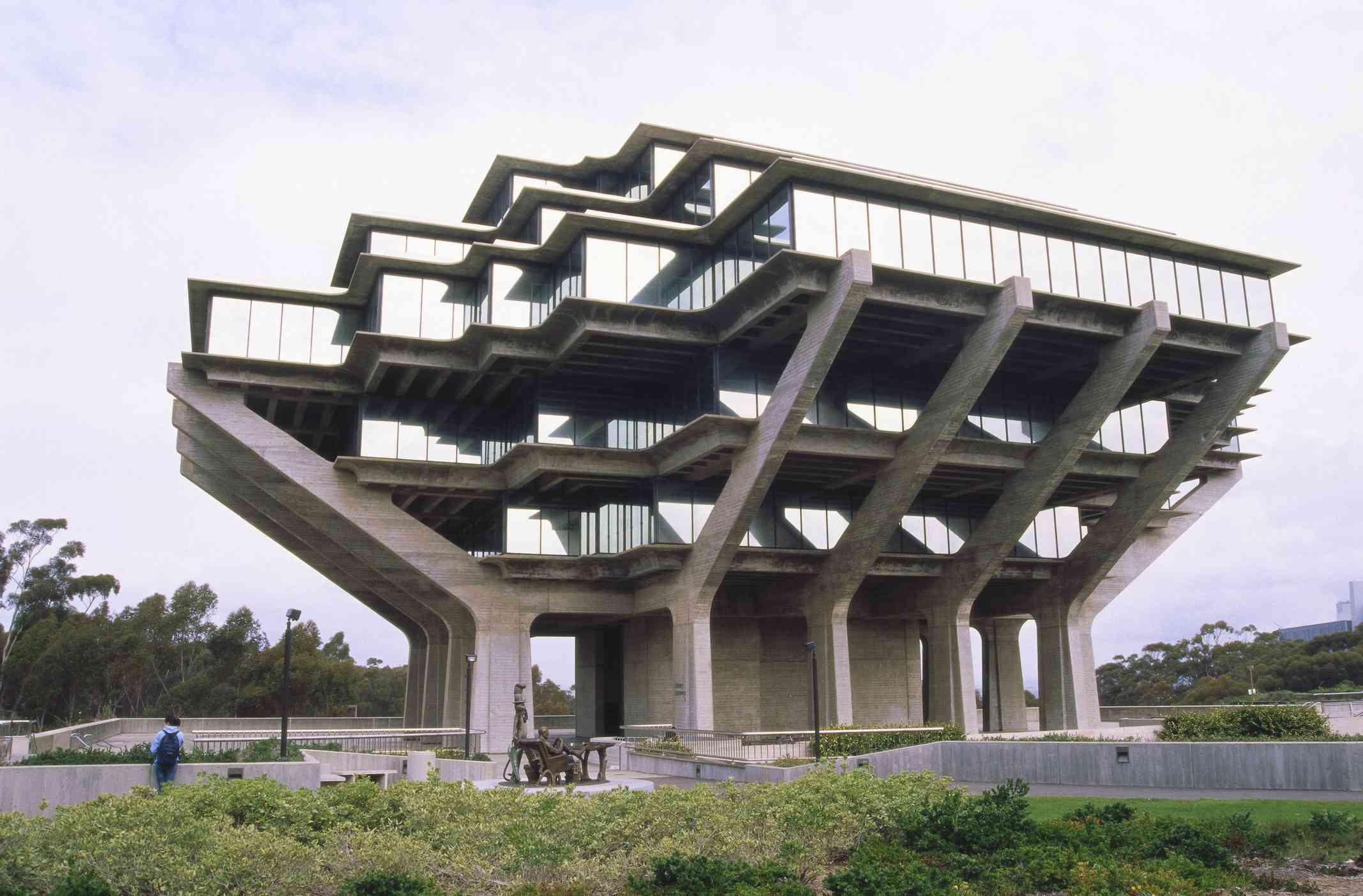 Geisel Library, La Jolla, California