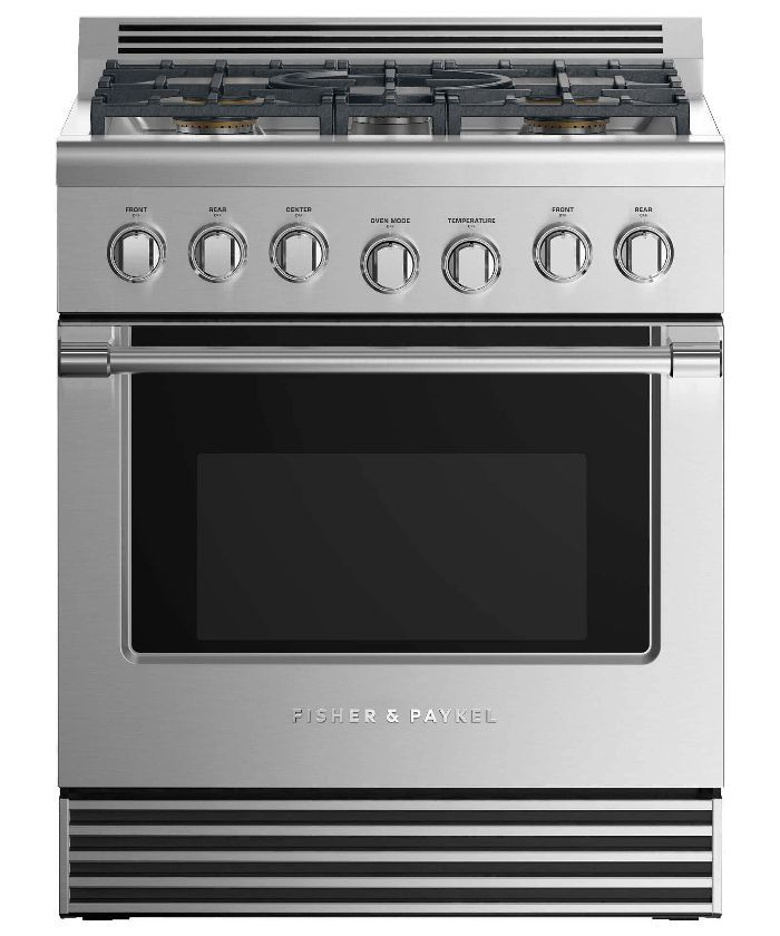 Product shot of Fisher & Paykel free range oven
