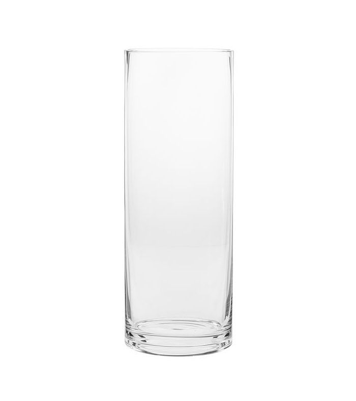 Pottery Barn Aegean Clear Glass Vase