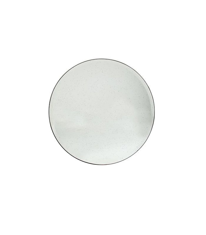 Round Foxed Mirror