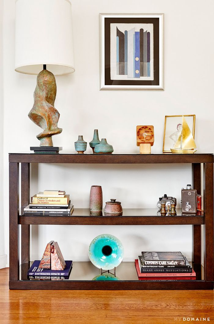 Collection of midcentury accessories