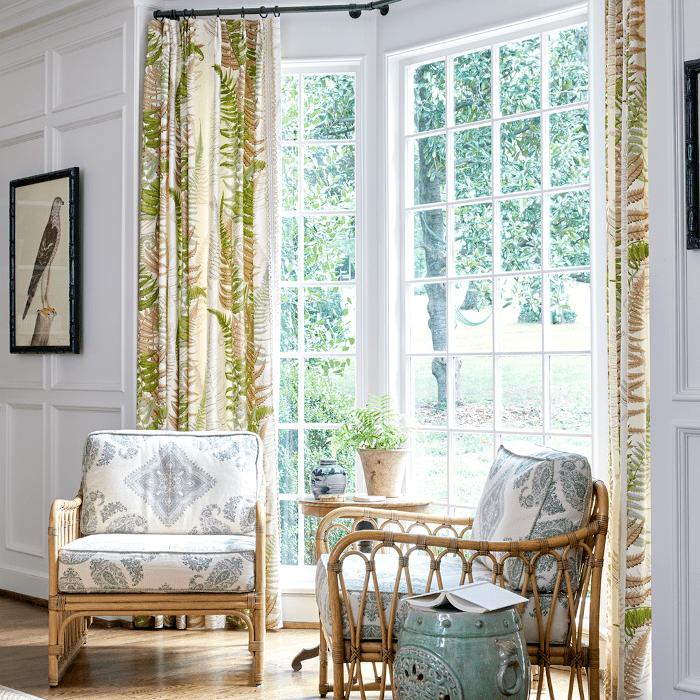 Sarah Bartholomew home décor picks: living room with natural texture