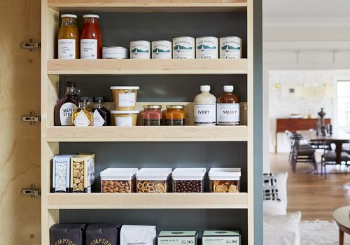 how to stock your pantry -
