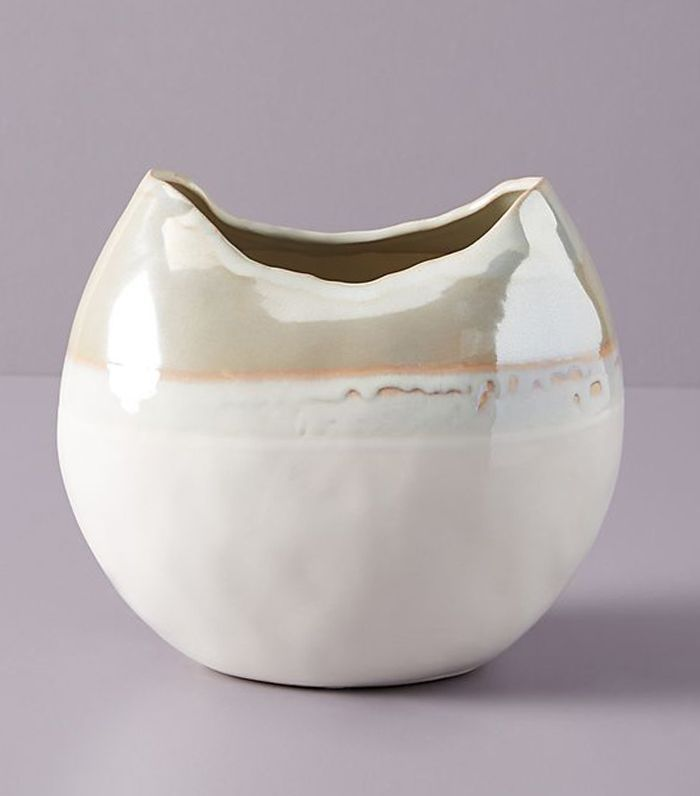Anthropologie Crescent Moon Vase