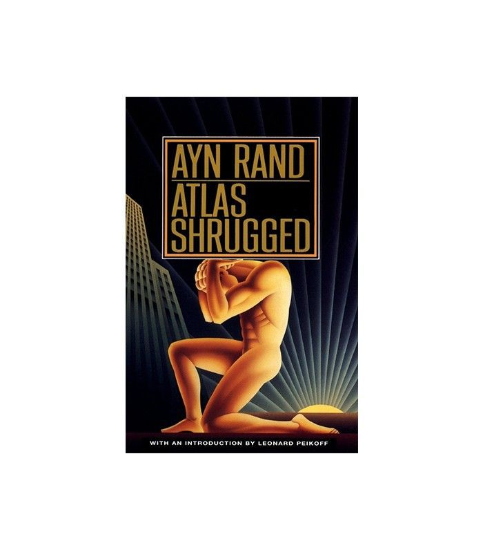 Atlas Shrugged by Ayn Rand sobrecubierta