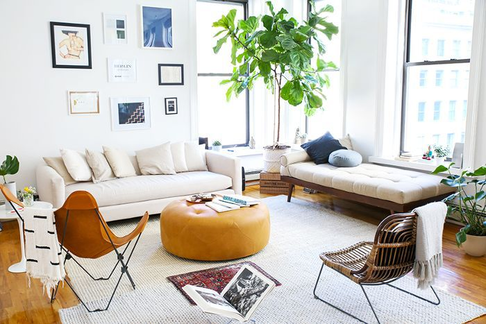 This Modern Tribeca Apartment Tour Has Serious Tulum Vibes