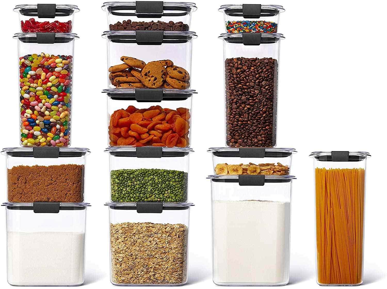 Brilliance Plastic Food Storage Pantry Set