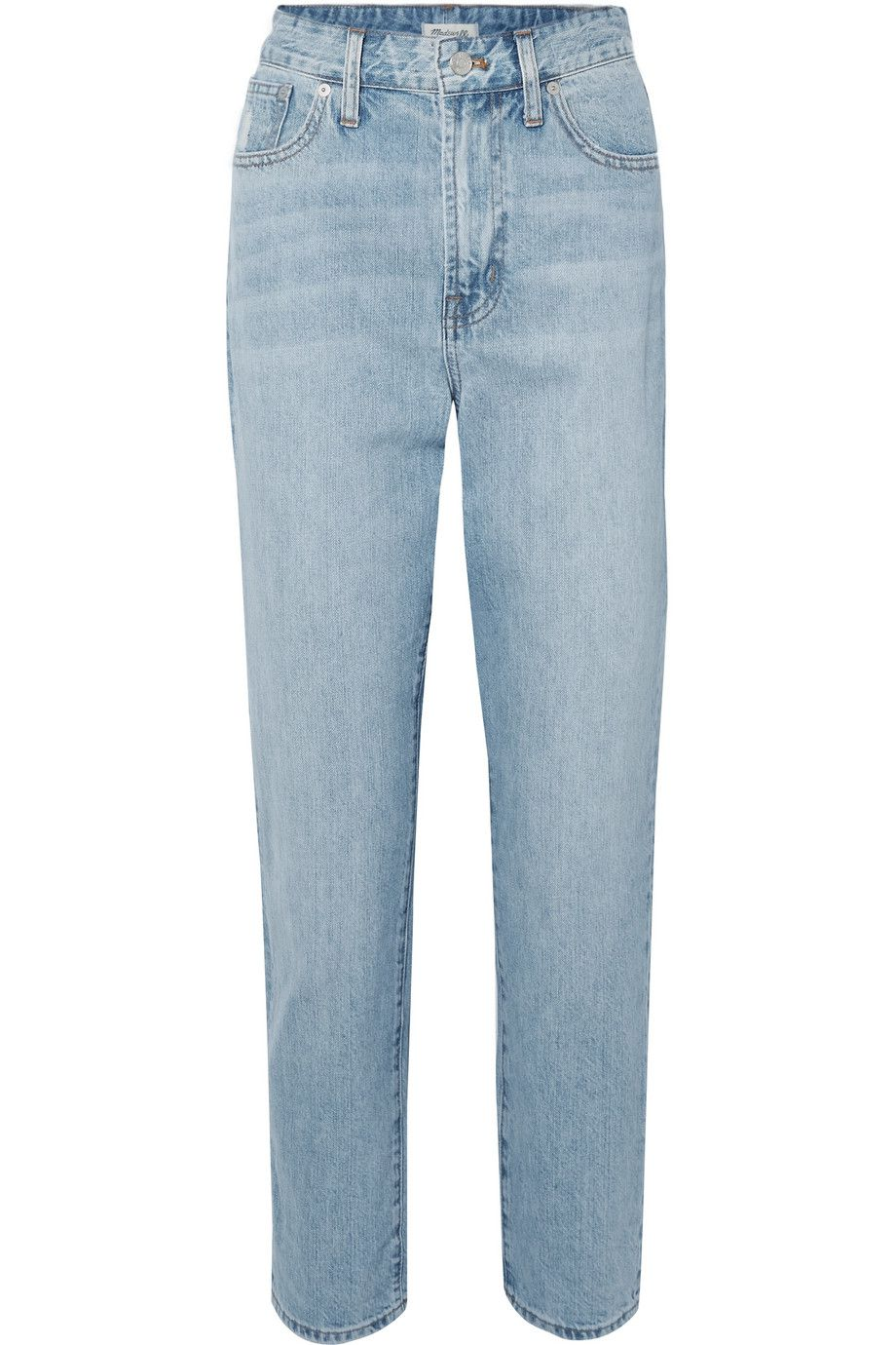 The Curvy Perfect Vintage High-Rise Straight-Leg Jeans