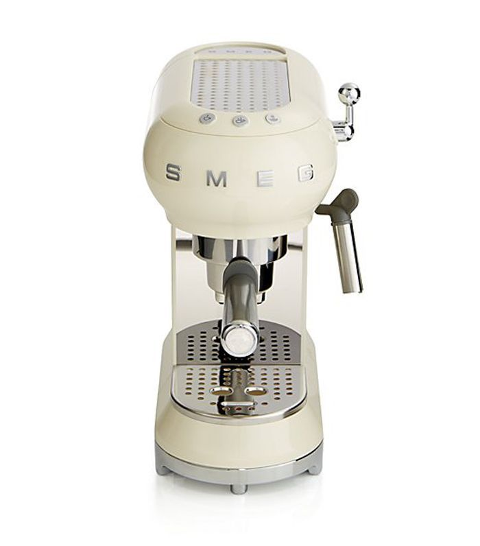 Smeg Cream Espresso Maker - Crate and Barrel