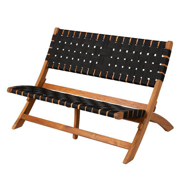 Sava Indoor/Outdoor Wooden Park Bench
