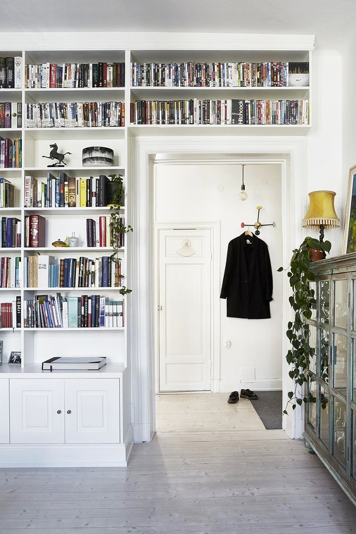 Small-Space Scandinavian Design—Bookcase