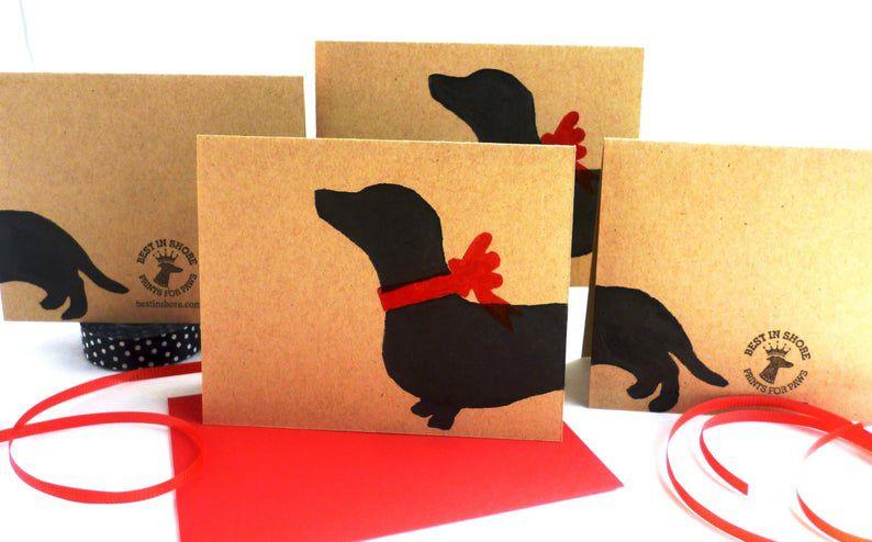 Best In Shore Dachshund Card Sets - Doxie Weiner Dog Gifts