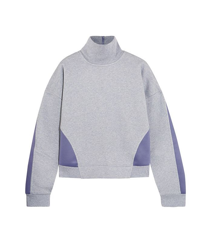 Jersey And Stretch-scuba Sweatshirt