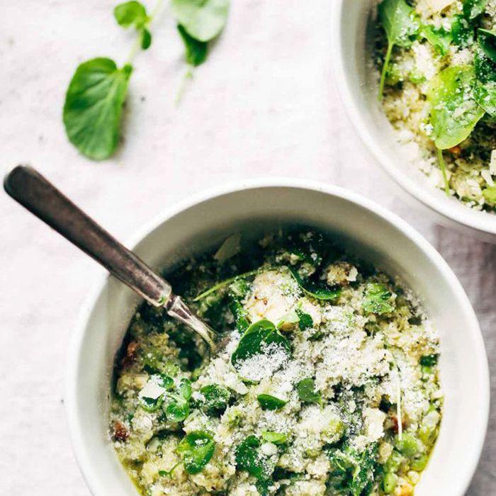 Recetas de pollo Crockpot - Crockpot Quinoa Chicken Primavera