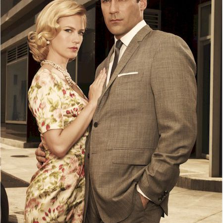 Jon Hamm y January Jones