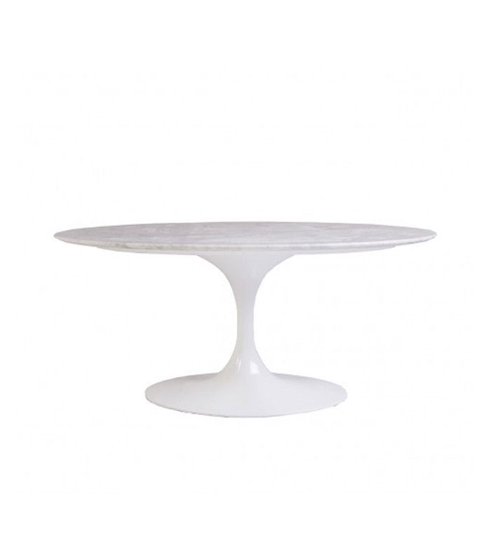 France & Son Marble Tulip Coffee Table