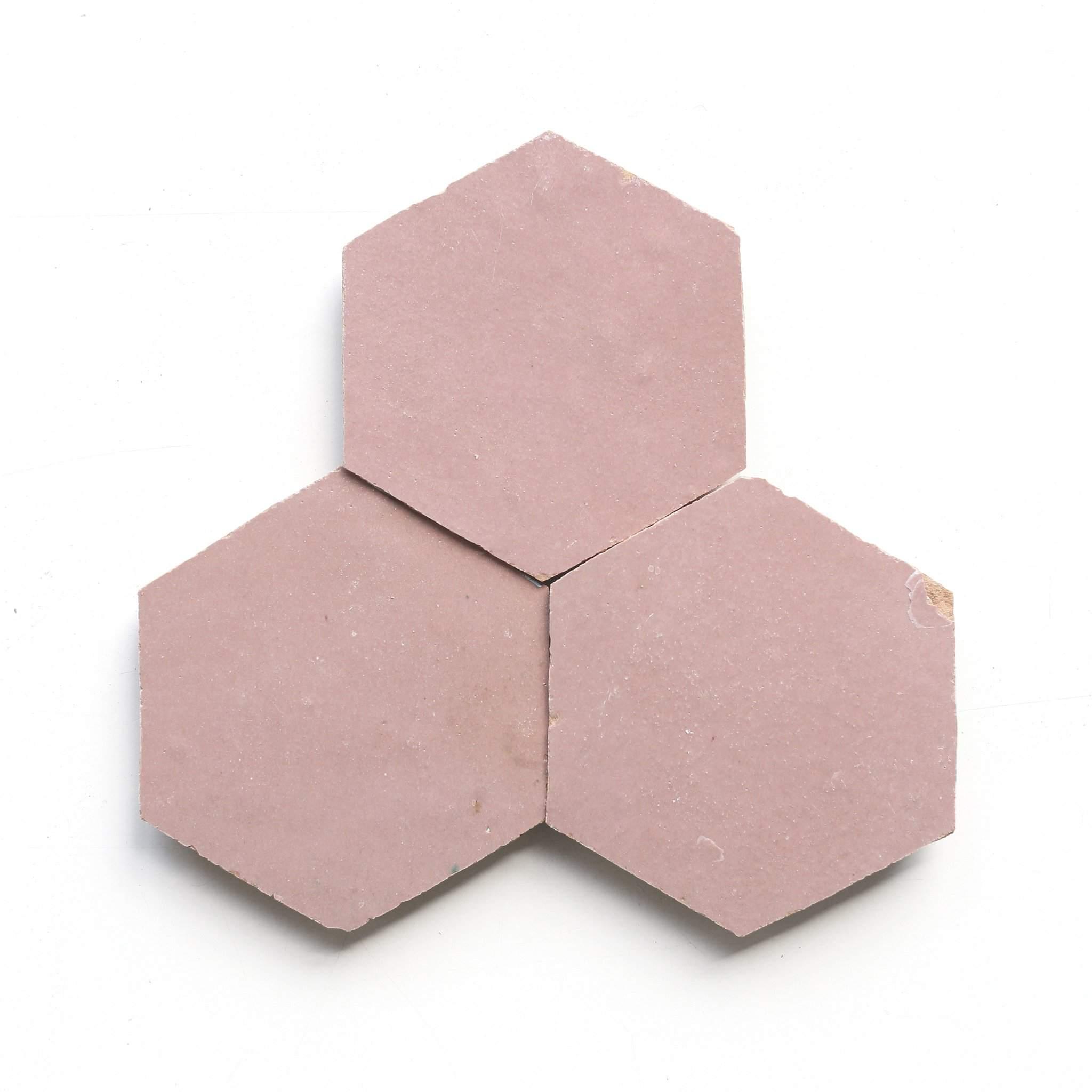 Light Pink—Bathroom Floor Tile Ideas