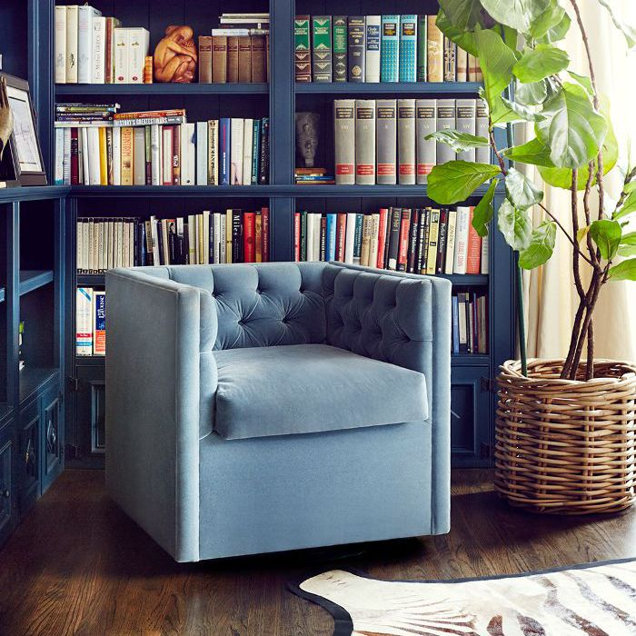 After photo of built in shelving in Sasha Alexander's home