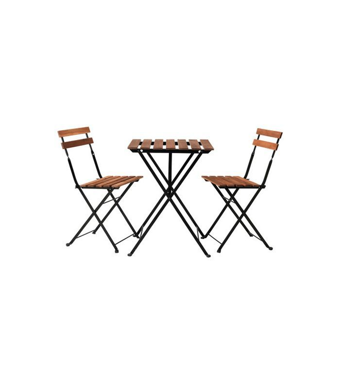IKEA Tarno Table and Two Chairs