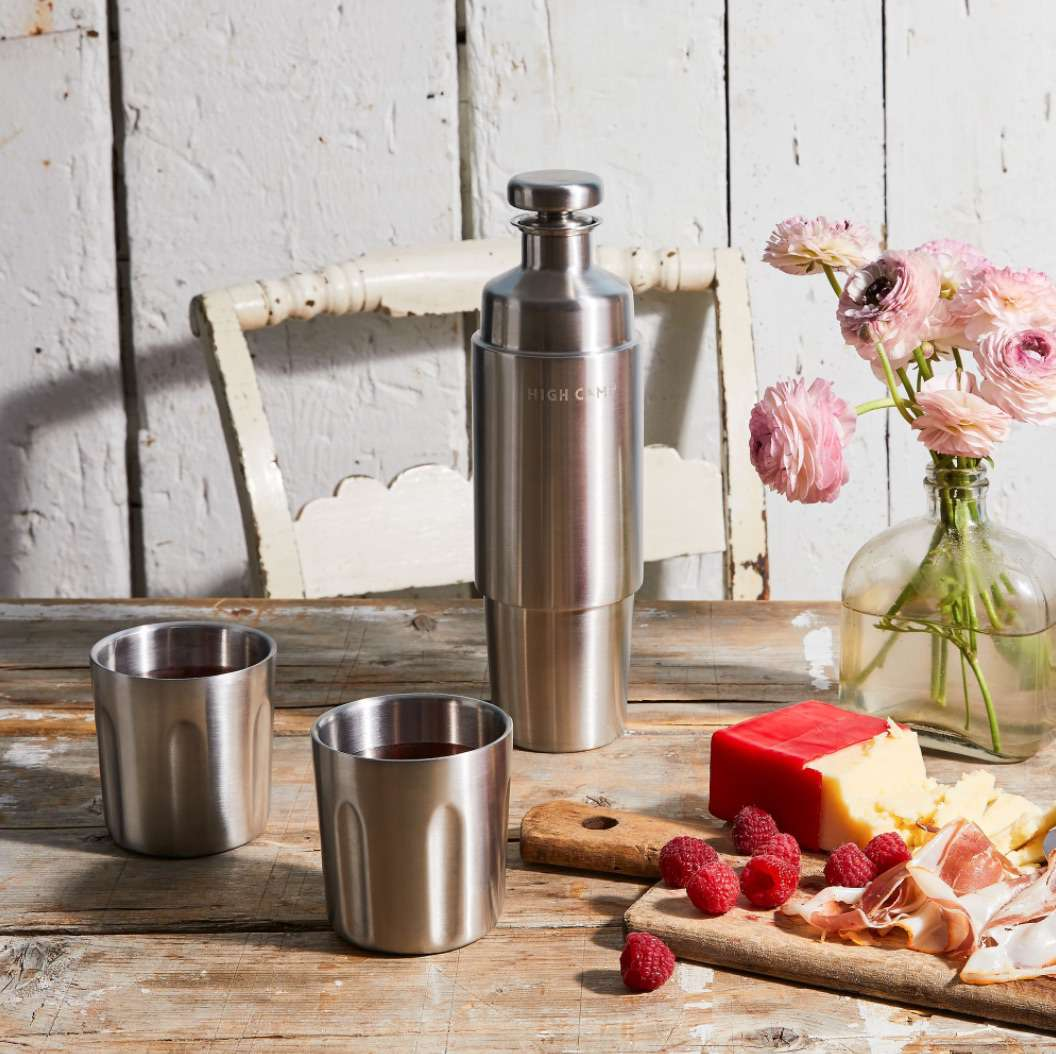 Insulated Magnetic Flask & Tumblers