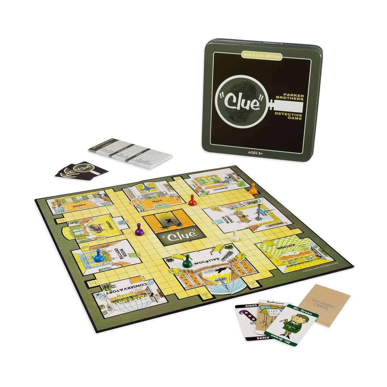 Clue Game Tin - Nostalgia Edition