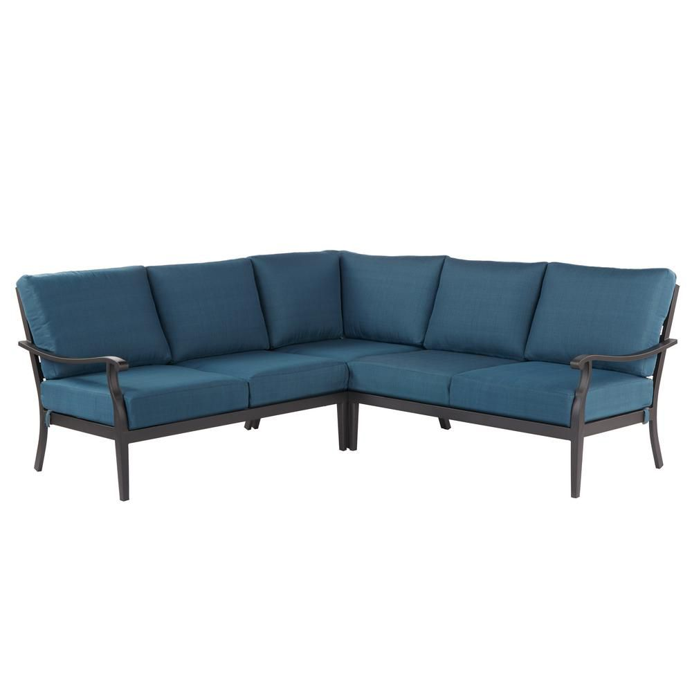 Riley 3-Piece Metal Outdoor Sectional—Home Depot Spring Sale
