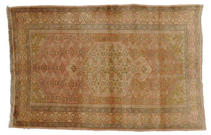 Vintage Persian Bidjar Rug - 4'1