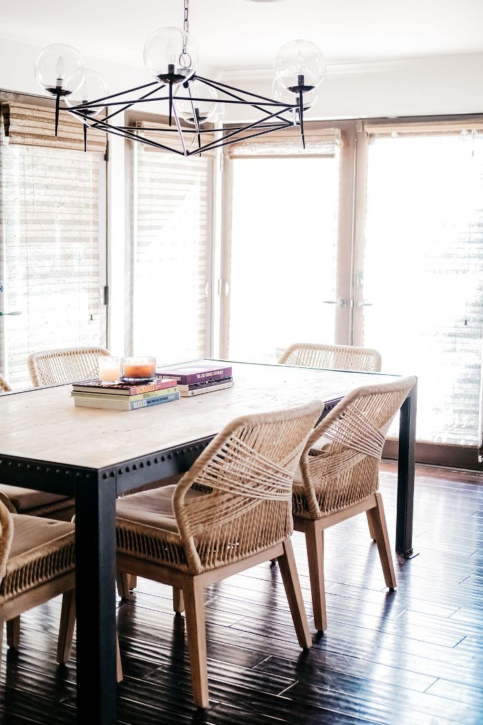 Trish and Billy Ray Cyrus—dining room