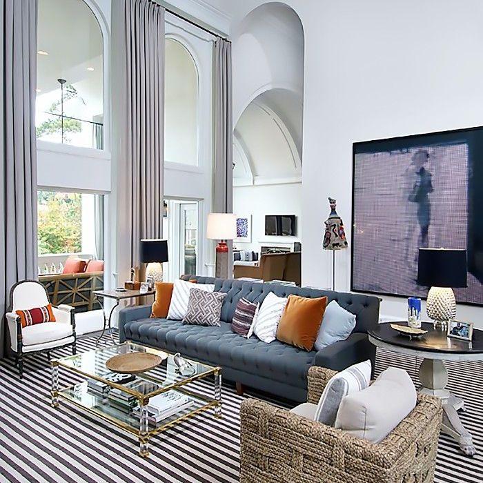 Nate Berkus remodel: living room