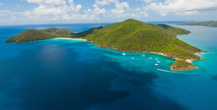 Private Islands to Rent - Guana, Islas Vírgenes Británicas