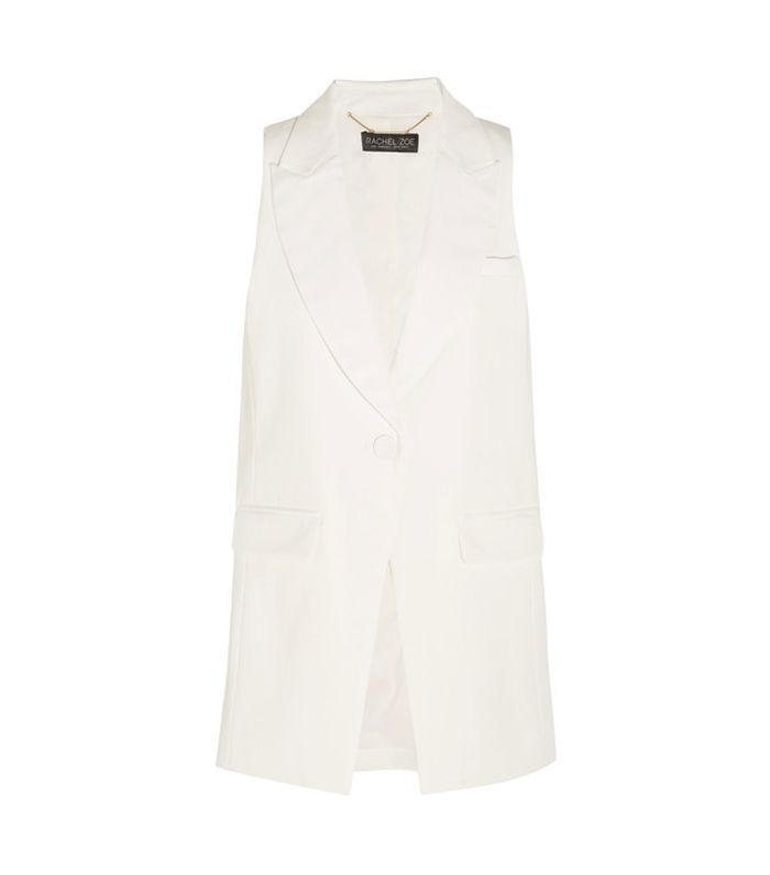 Knight Twill Tuxedo Vest
