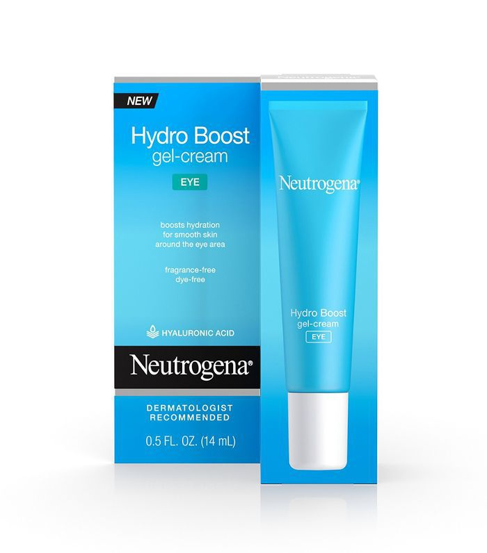 Neutrogena Hydro Boost Hyaluronic Acid Gel Eye Cream Dermatologist-Recommended Eye Creams
