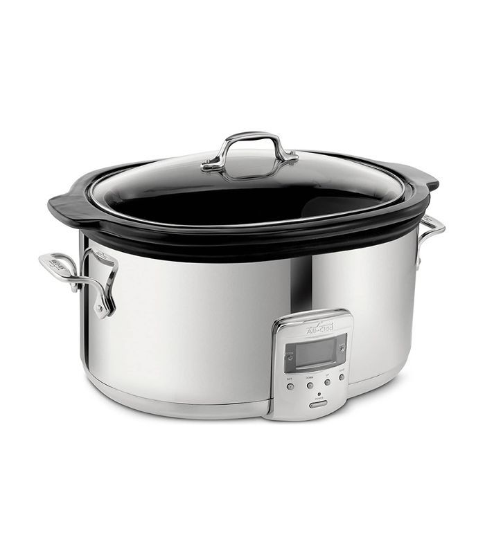 All-Clad 6 1/2-Quart Slow Cooker With Black Ceramic Insert