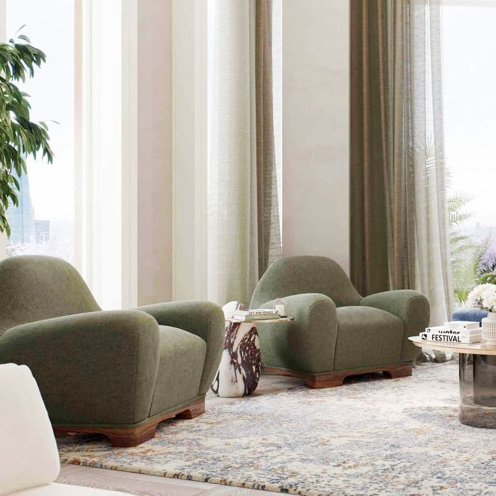 Dainty With an Edge: 8 Pastel Living Rooms to Copy