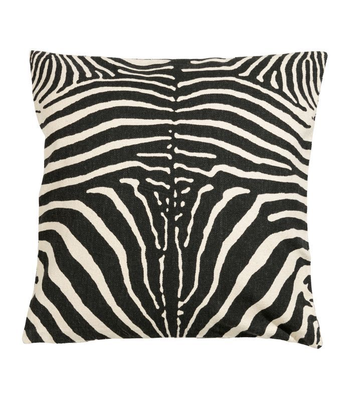 Zebra-print Cushion Cover
