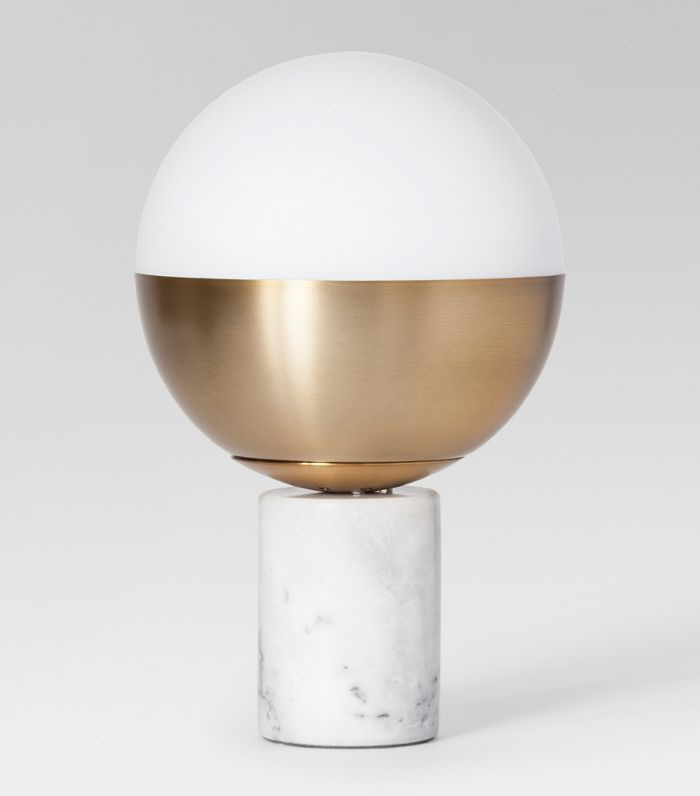 Gumball Floor Lamp - Gold One Size at Urban Outfitters