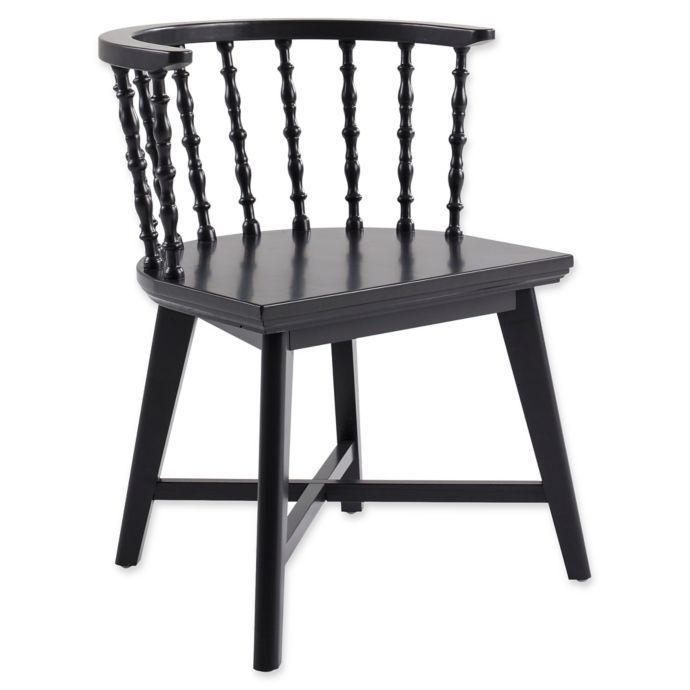 Bee & Willow Home Windsor Chair in Black