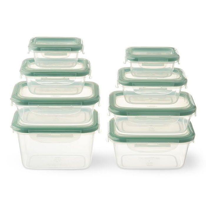 OXO 16-Piece Smart Seal Plastic Container Set